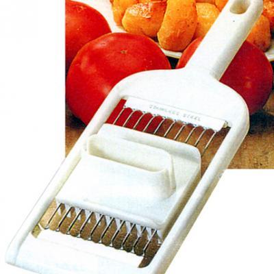 Coupe-Tomates tranches avec poussoir