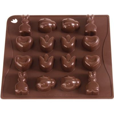 Chocolate mould x16 Choco-Ice Sping