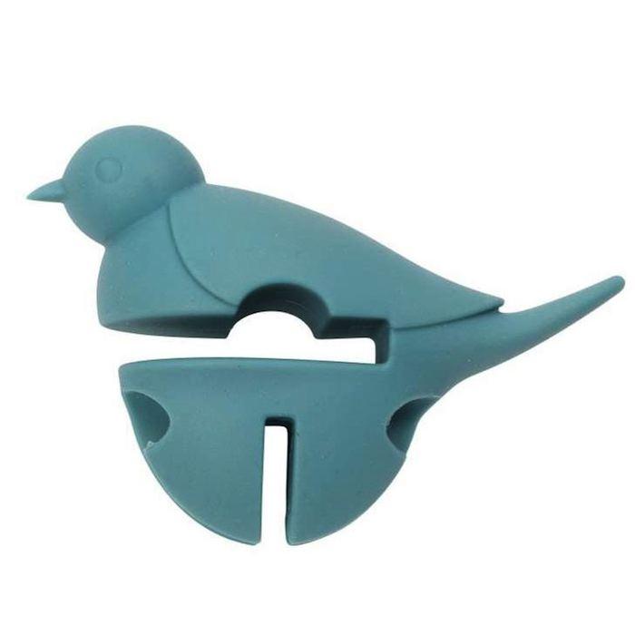 Little bird pot pal bleu
